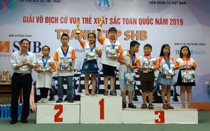 Giải cờ vua trẻ xuất sắc toàn quốc: TP.HCM dẫn đầu thuyết phục!