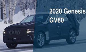 Genesis GV80 - 'đối thủ' Vinfast Lux SA 2.0 sắp ra mắt