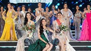 Lương Thùy Linh đăng quang Miss World Việt Nam, báo quốc tế nói gì?
