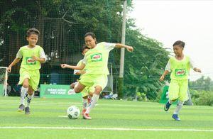 Tuyển bóng đá nhí Việt Nam lần đầu tranh tài tại giải đấu quốc tế