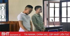 2 phụ xe vận chuyển ma túy đá từ Lào qua Hà Tĩnh, lĩnh... 31 năm tù