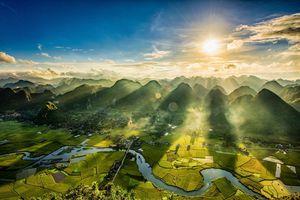 Về thung lũng vàng Bắc Sơn với tay chạm tới mây trời