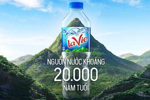 Nước khoáng thiên nhiên Lavie - nguồn nước khoáng quý 20.000 năm tuổi