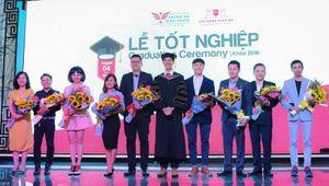 Sinh viên trường Cao đẳng Việt Mỹ được tuyển dụng ngay tại Lễ tốt nghiệp
