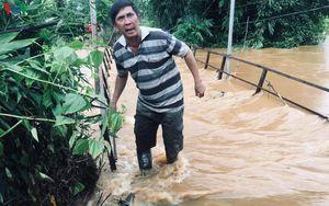 Đắk Nông đảm bảo an toàn cho vùng bị cô lập giữa dòng nước lũ