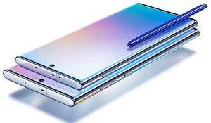 So kích thước Note 10, Note 10+ với loạt smartphone đầu bảng