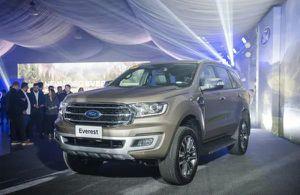 Ford Everest 2020 chính thức ra mắt tại Philippines