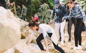 Hoa hậu Thùy Linh và hai á hậu về Thanh Hóa, hỗ trợ người dân vùng lũ