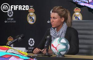 FIFA 2020 lần đầu có HLV nữ