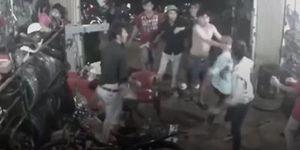 Xác định được nhóm thanh niên hung hãn xông vào đánh bầm dập chủ nhà