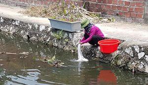 Vùng đảo Hà Nam chờ đợi các công trình nước sạch