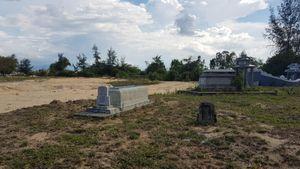 Chưa hoàn thiện pháp lý, chủ đầu tư đã rao bán đất nền ở nghĩa địa