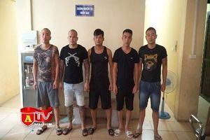 Hà Nội: Bắt giữ nhóm đối tượng cưỡng đoạt tài sản