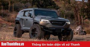 Rezvani Tank 2020 - SUV bọc thép giá từ 155.000 USD
