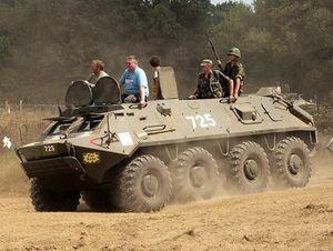 Bulgaria 'xuống tiền' mua xe bọc thép Tây: Gần 800 BTR-60 lên đường!
