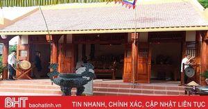 Khánh thành nhà thượng điện Văn Miếu Kỳ Anh