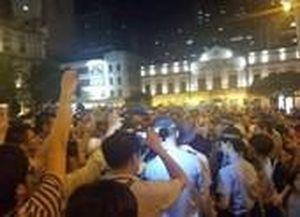 Xuống đường ở Macau ủng hộ biểu tình Hong Kong