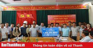 Hiệp hội doanh nghiệp tỉnh ủng hộ đồng bào huyện Mường Lát bị ảnh hưởng bởi lũ lụt 1,8 tỷ đồng