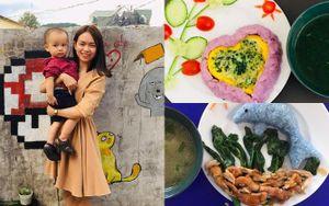 Công thức ăn dặm phong phú của mẹ Quảng Ngãi khiến con háo hức, mẹ khỏi khủng hoảng vì nghĩ ăn gì mỗi bữa