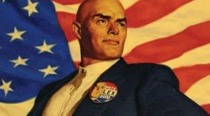 Siêu ác nhân từng vung tiền tranh cử tổng thống hãm hại Superman