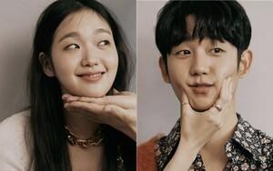 Loạn tim trước bộ ảnh tạp chí ngọt ngào đến 'tan chảy' của Jung Hae In và Kim Go Eun