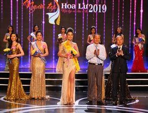 Chung kết cuộc thi Người đẹp Hoa Lư 2019: Người đẹp Nguyễn Thùy Trang đăng quang danh hiệu cao nhất