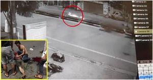 CLIP: Kinh hoàng xe Exciter 'kẹp 5' tông vào dải phân cách khiến 4 sinh viên tử vong