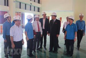 Đoàn đại biểu Triều Tiên thăm Dự án Thiết chế Công đoàn tại Hà Nam