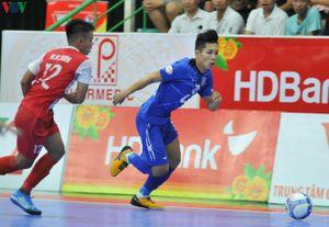 Giải Futsal HDBank VĐQG 2019: Thái Sơn Nam tạm chiếm ngôi đầu bảng