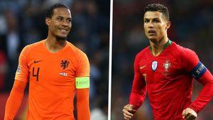 Van Dijk vượt Ronaldo ngoài đời, nhưng trong game thì sao?