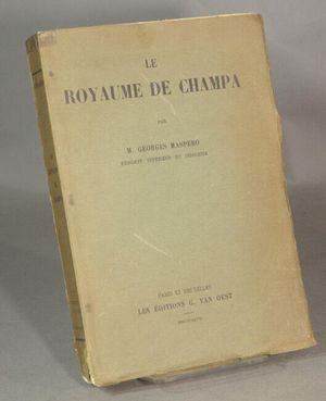 Cuốn sách của Georges Maspero: Tài liệu quý về 'Vương Quốc Chàm'