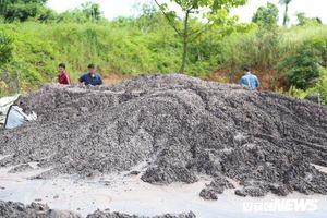 Đổ chất thải từ Alumin Nhân Cơ ra đường: Đề xuất phạt 8 - 12 triệu đồng