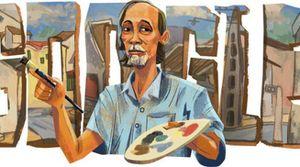 Google Doodle hôm nay 1/9: Lần đầu tiên vinh danh họa sĩ Bùi Xuân Phái