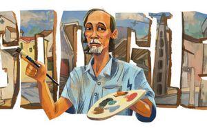 Lần đầu tiên trong lịch sử, Google vinh danh cố họa sỹ Bùi Xuân Phái