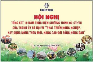 Sinh Vật Cảnh với Tổng kết 10 năm xây dựng Nông thôn mới và kỷ niệm 60 năm ngày Bác Hồ phát động Tết Trồng cây