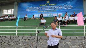 Khai mạc giải bóng đá tranh Cup Tòa án Quảng Nam lần thứ XIII