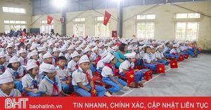 Các trường học ở Hà Tĩnh khai giảng năm học mới 2019 - 2020