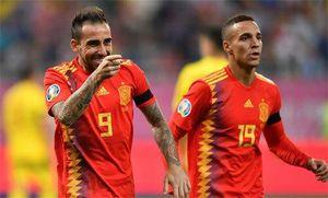 Romania 1-2 Tây Ban Nha: 'Bò tót' vẫn toàn thắng ở vòng loại Euro 2020