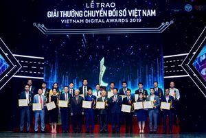 50 tổ chức, doanh nghiệp đạt giải thưởng 'Công nghệ số Việt Nam 2019'