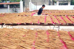 Gỡ khó cho doanh nghiệp xuất khẩu hương nhang sang Ấn Độ