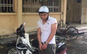 Bắt giữ đối tượng đối tượng trộm cắp xe máy trong ký túc xá