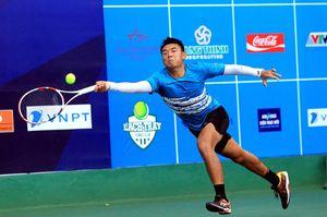 Giải quần vợt VTF Masters 500 Hải Phòng: Lý Hoàng Nam có chiến thắng đầu tiên trong màu áo mới