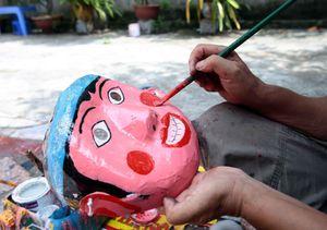 Làng nghề làm đồ chơi trung thu truyền thống tại Hưng Yên