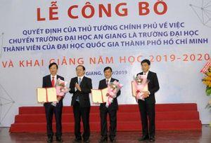 Đại học An Giang trở thành trường thành viên Đại học quốc gia TP Hồ Chí Minh