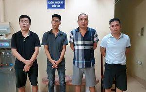 Hà Nội: Phá ổ nhóm cho vay lãi 'cắt cổ', thu nhiều dao, súng