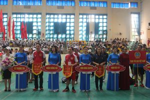 Khai mạc Giao lưu thể thao Tòa án hai nước Việt Nam – Lào
