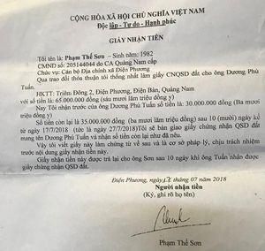 Kỳ I: Lòng vòng khoản tiền 'ủng hộ ngân sách' khi lấy sổ đỏ tại xã Điện Phương