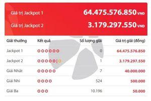 Kết quả Vietlott: Hai giải Jackpot 'nổ' liên tiếp tại TP. HCM