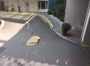Người đàn ông rơi từ tòa nhà Thùy Dương Plaza xuống đất tử vong