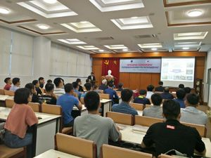 JFE lecture series for development of steel structure engineers in NUCE